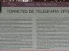 Les Torretes – Calella - plafó informatiu - Ampliació per permetre la lectura.