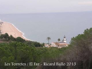 Vistes des de Les Torretes - Calella