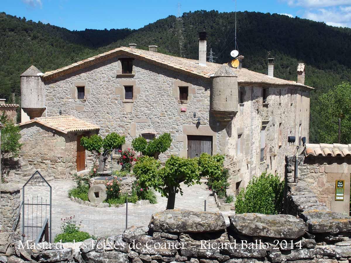 Masia de les feixes de coaner sant mateu de bages bages catalunya medieval - Casa rural bages ...