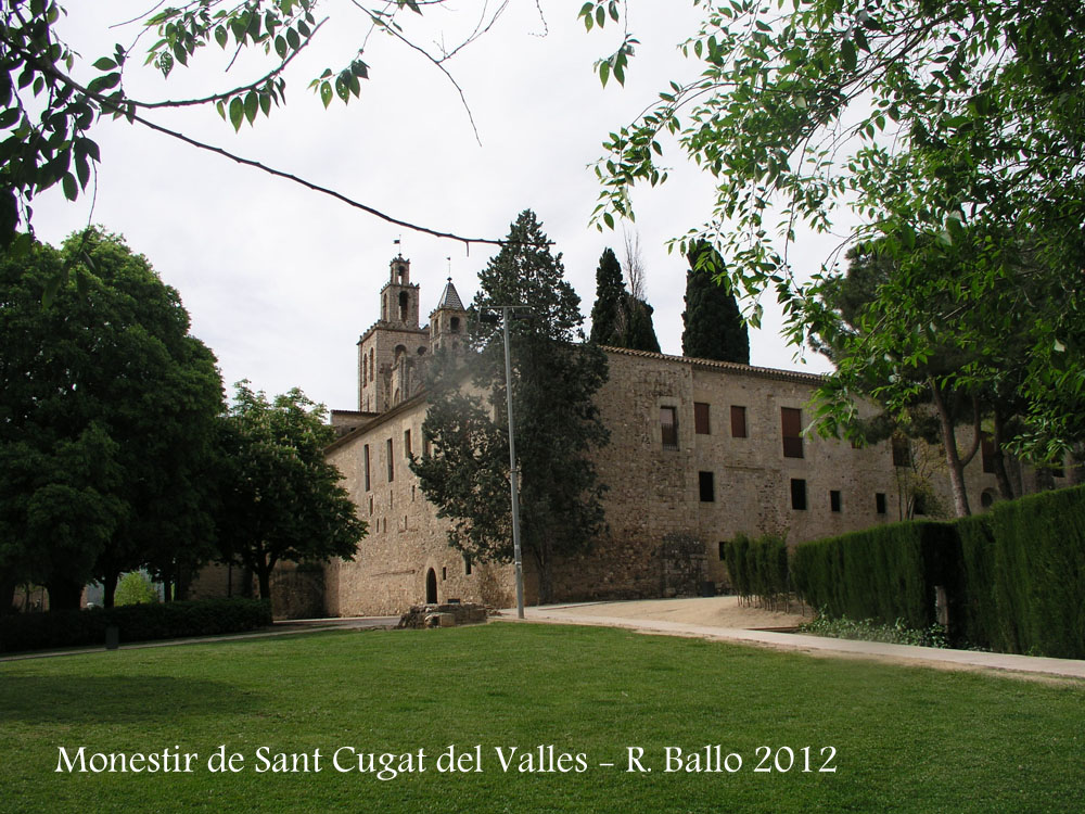 Monestir de sant cugat del vall s vall s occidental - Mudanzas sant cugat del valles ...