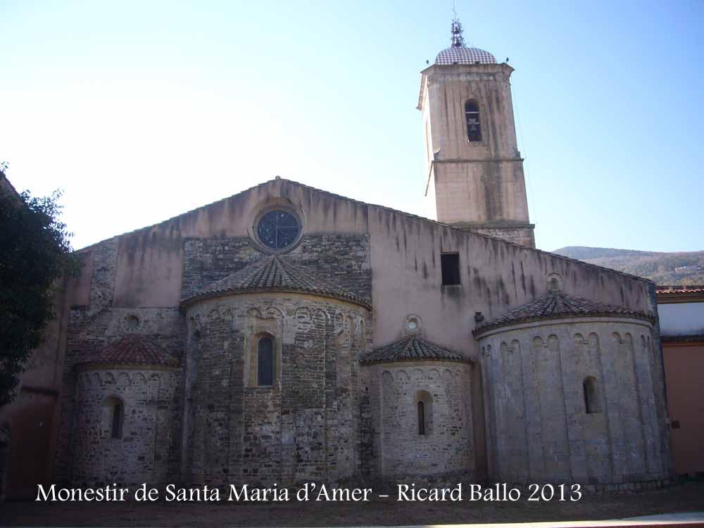 Monestir de Santa Maria d'Amer – Amer / Selva  Catalunya Medieval