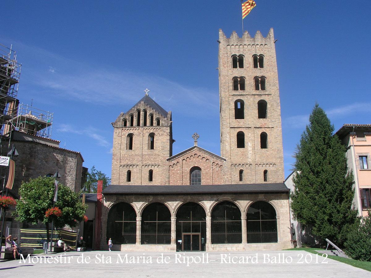 Monestir de Santa Maria de Ripoll / Ripollès  Catalunya Medieval