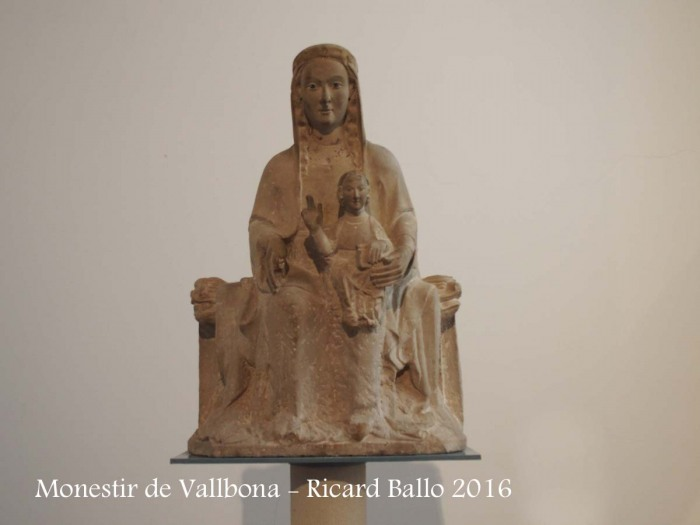 Monestir de Santa Maria de Vallbona – Vallbona de les Monges - Mare de Déu del Claustre - Romànic - Segle XII