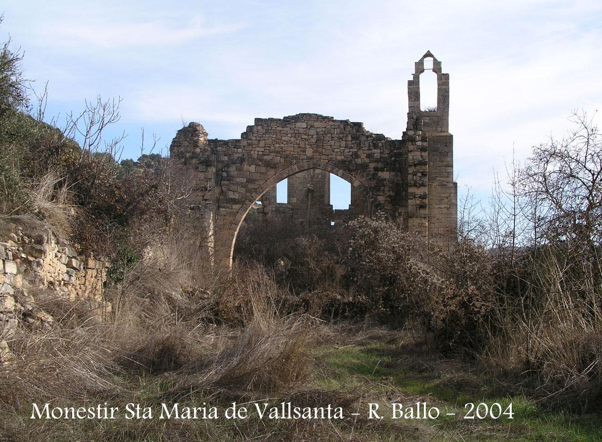 Monestir Cistercenc de Santa Maria de Vallsanta – Guimerà / Urgell  Cataluny...