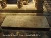 Monestir de Santes Creus - Als peus del mausoleu de Pere el Gran hi ha una senzilla llosa funerària corresponent a la tomba de I'almirall Roger de Llúria.