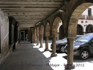St Joan de les Abadesses-Plaça Major