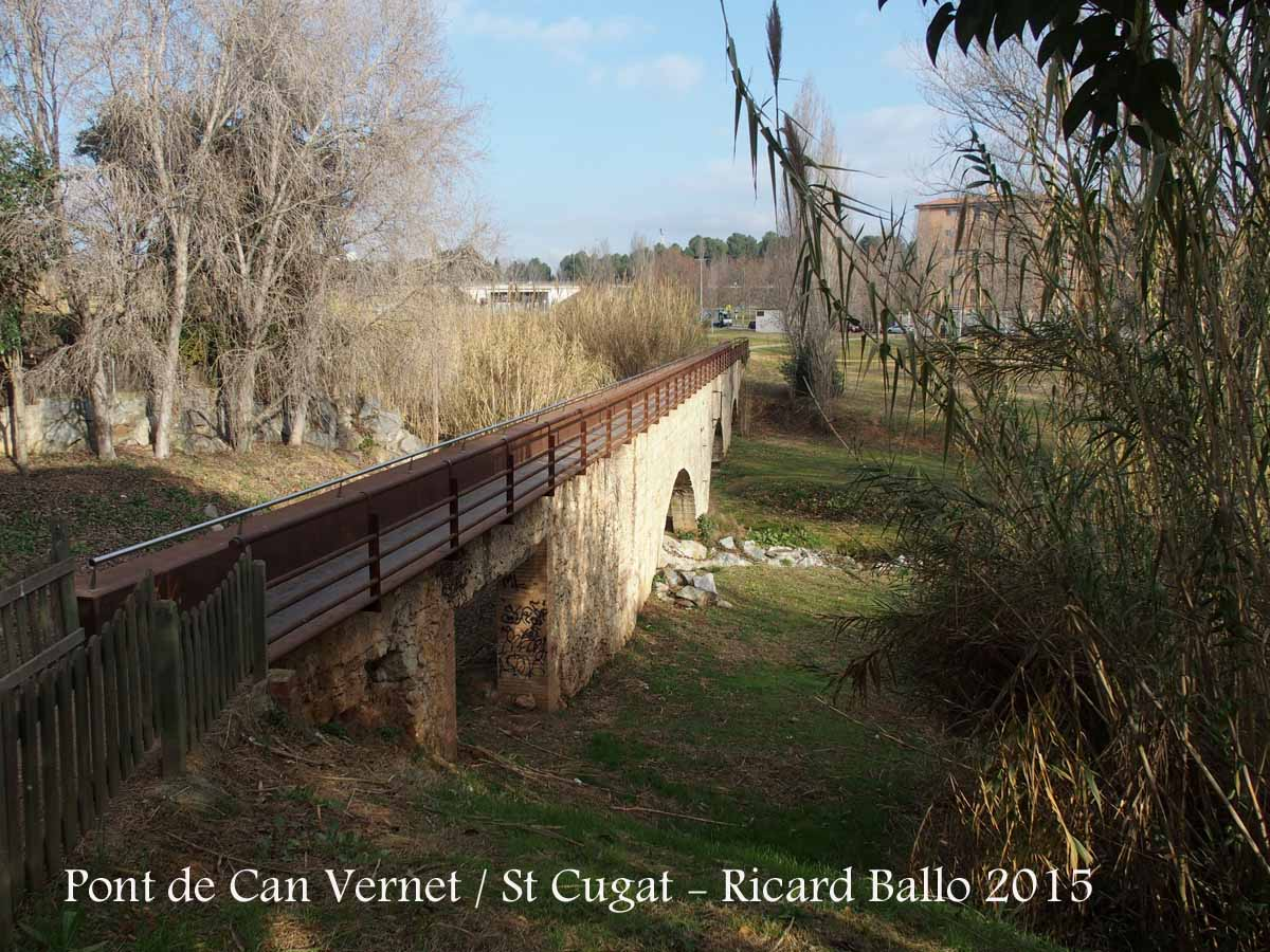 Pont de can vernet sant cugat del vall s vall s occidental catalunya medieval - Casas en el valles occidental ...