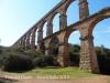 Pont del Diable – Tarragona - La base de la construcció té forma atalussada.