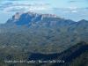 Vistes des del cim del Cogulló - Castellfollit del Boix - Serralada de Montserrat.