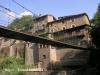 Rupit - Pont penjant, un dels atractius turístics del poble.