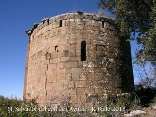 Ermita de Sant Salvador del coll de l'Aguda-Torà