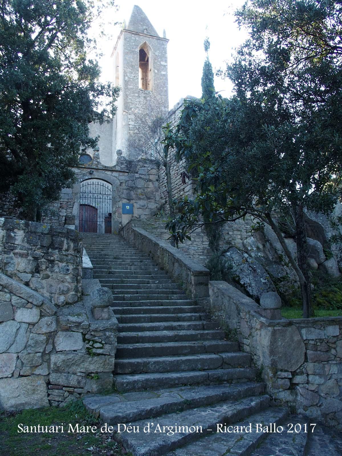 Santuari de la Mare de Déu d'Argimon – Riudarenes / Selva  Catalunya Medieval