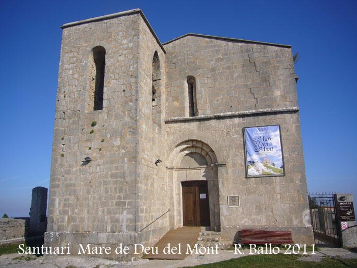 Santuari de la Mare de Déu del Mont – Albanyà / Alt Empordà  Catalunya Medieval