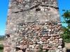 Torre dels moros – Les Borges del Camp - En aquesta imatge s'aprecia que hi ha restes ben evidents de que antigament hi havia hagut una edificació adossada a la torre