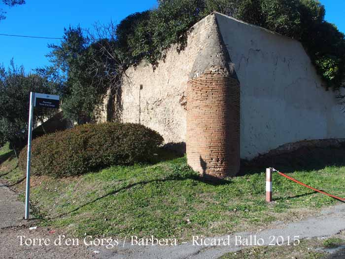 Torre d en gorgs barber del vall s vall s occidental catalunya medieval - Muebles barbera del valles ...