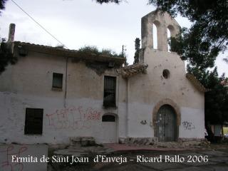 Torre d'Enveja - Ermita de Sant Joan d'Enveja.