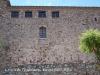 Castell de Plegamans / Palau-solità i Plegamans - Sorprèn una mica el nombre d'espitlleres que apareixen en aquesta paret