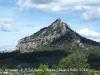 Convent de Sant Salvador - Horta de Sant Joan - Al fons de la imatge apareix la muntanya de Santa Bàrbara