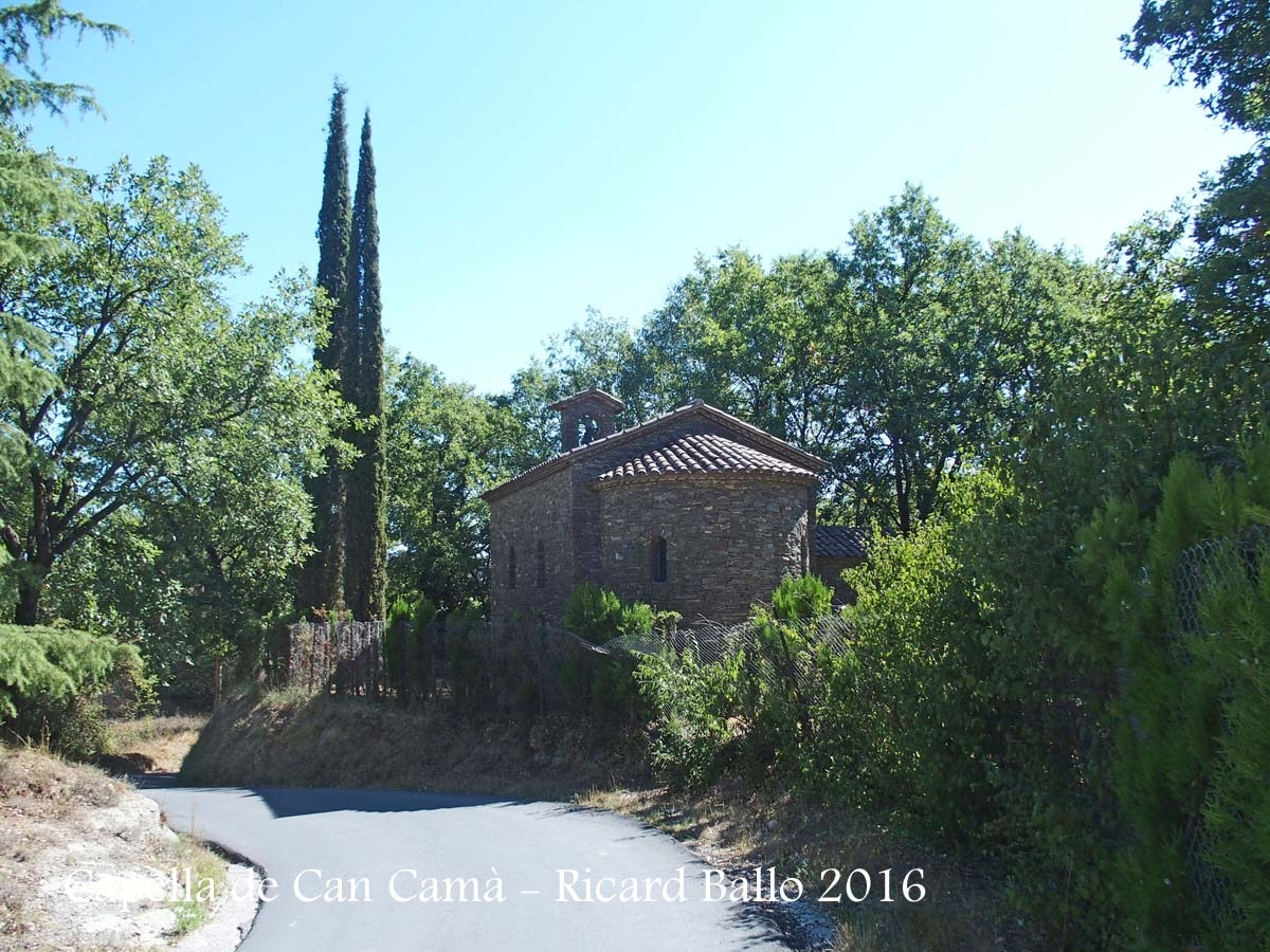Capella de Can Camà– Masies de Voltregà
