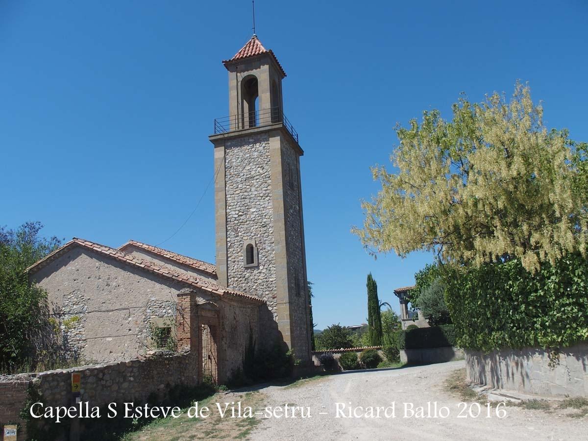 Capella de San Esteve de Vila-setrú – Manlleu