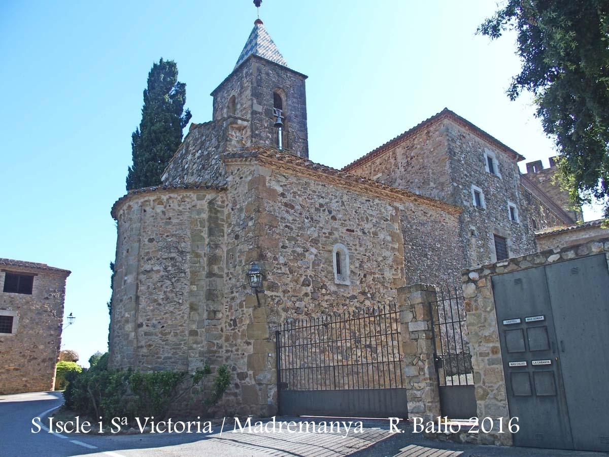 Capella de Sant Iscle i Santa Victòria – Madremanya