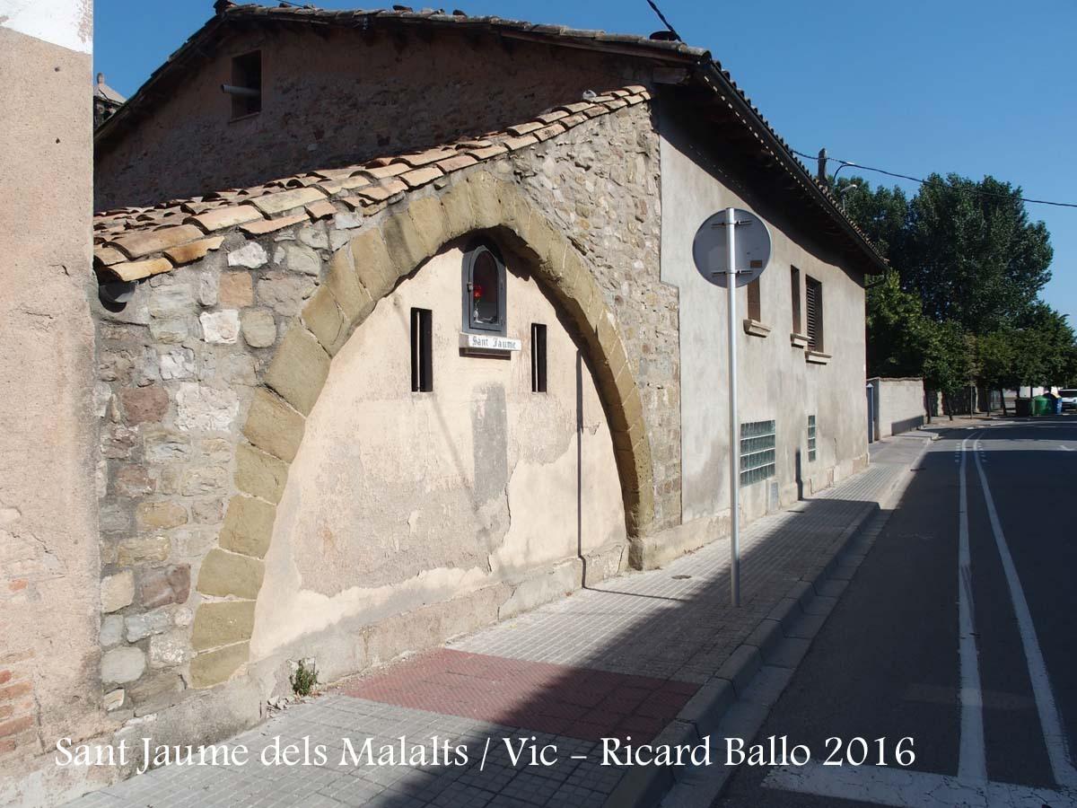 Capella de Sant Jaume dels Malalts – Vic