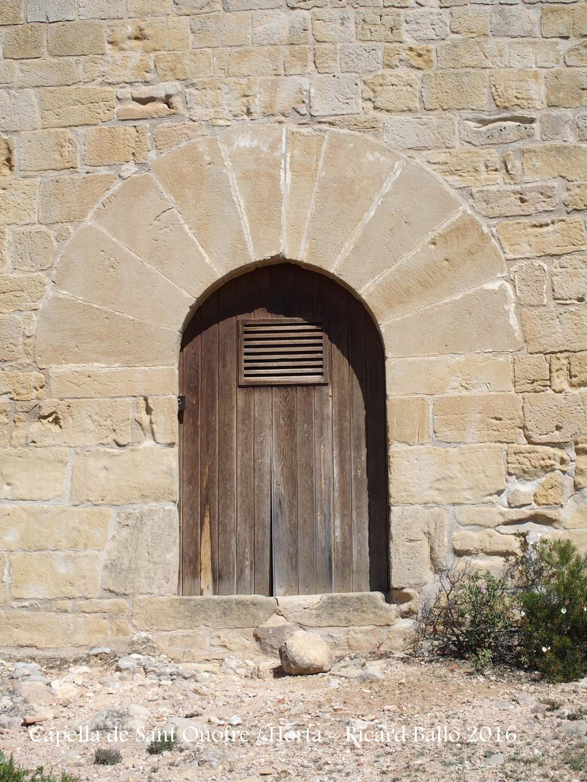 Capella de Sant Onofre – Horta de Sant Joan