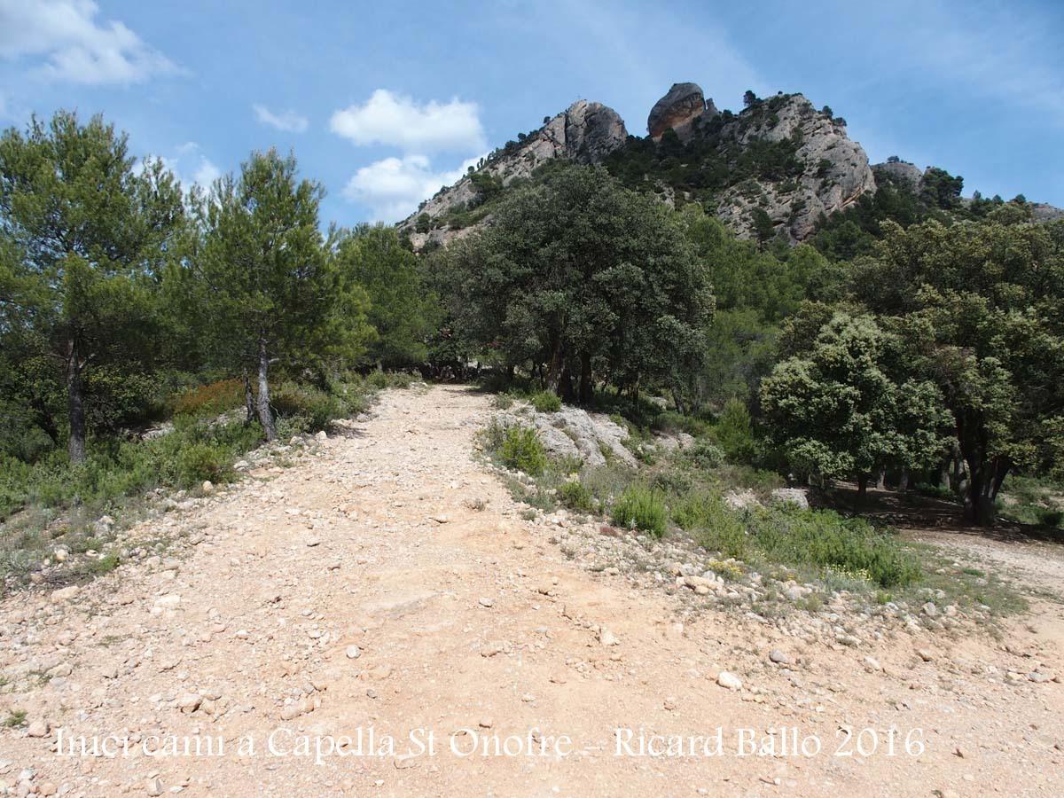 Capella de Sant Onofre – Horta de Sant Joan - Camí