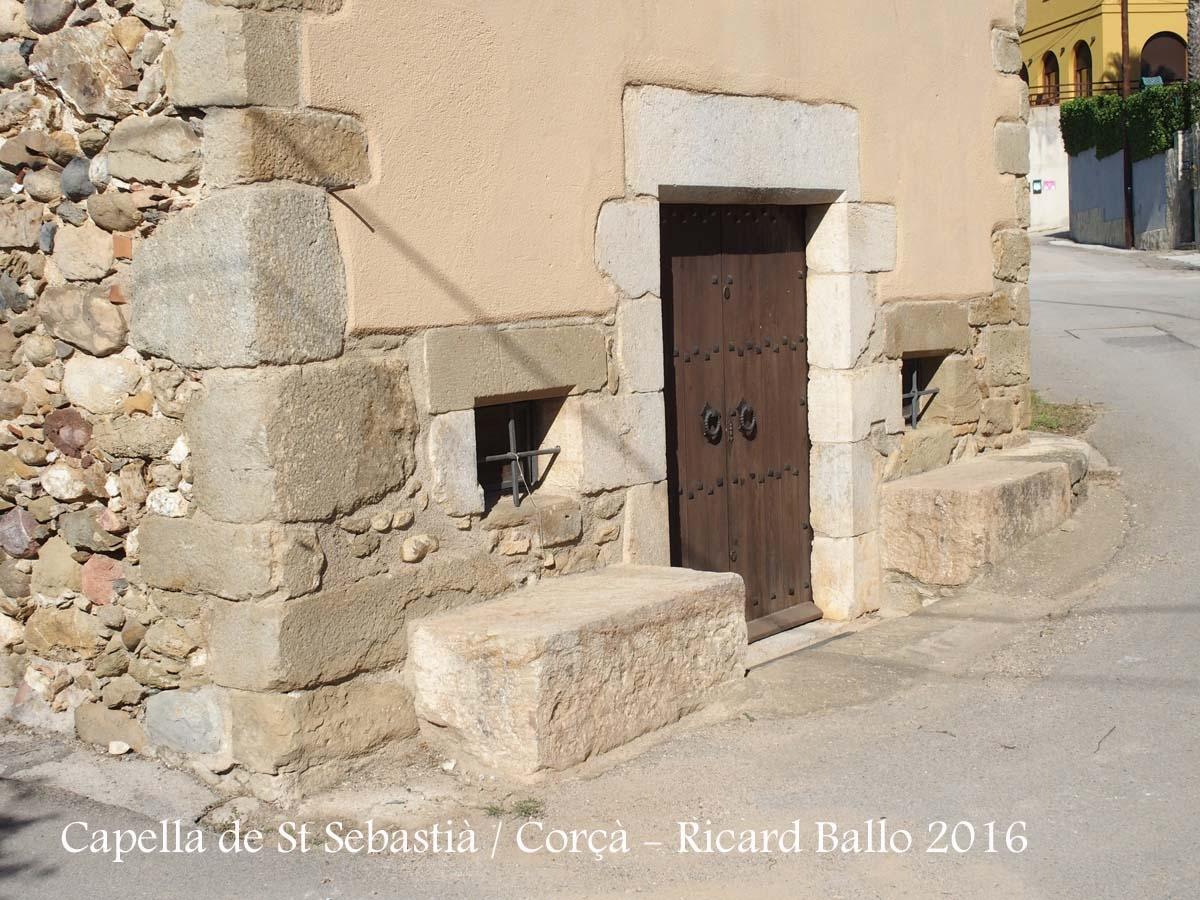 Capella de Sant Sebastià – Corçà