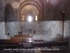 Capella de Santa Justa i Santa Rufina – Lliçà d'Amunt - Interior - Fotografia obtinguda introduint l'objectiu de la màquina de retratar per una petita obertura situada a la porta d'entrada