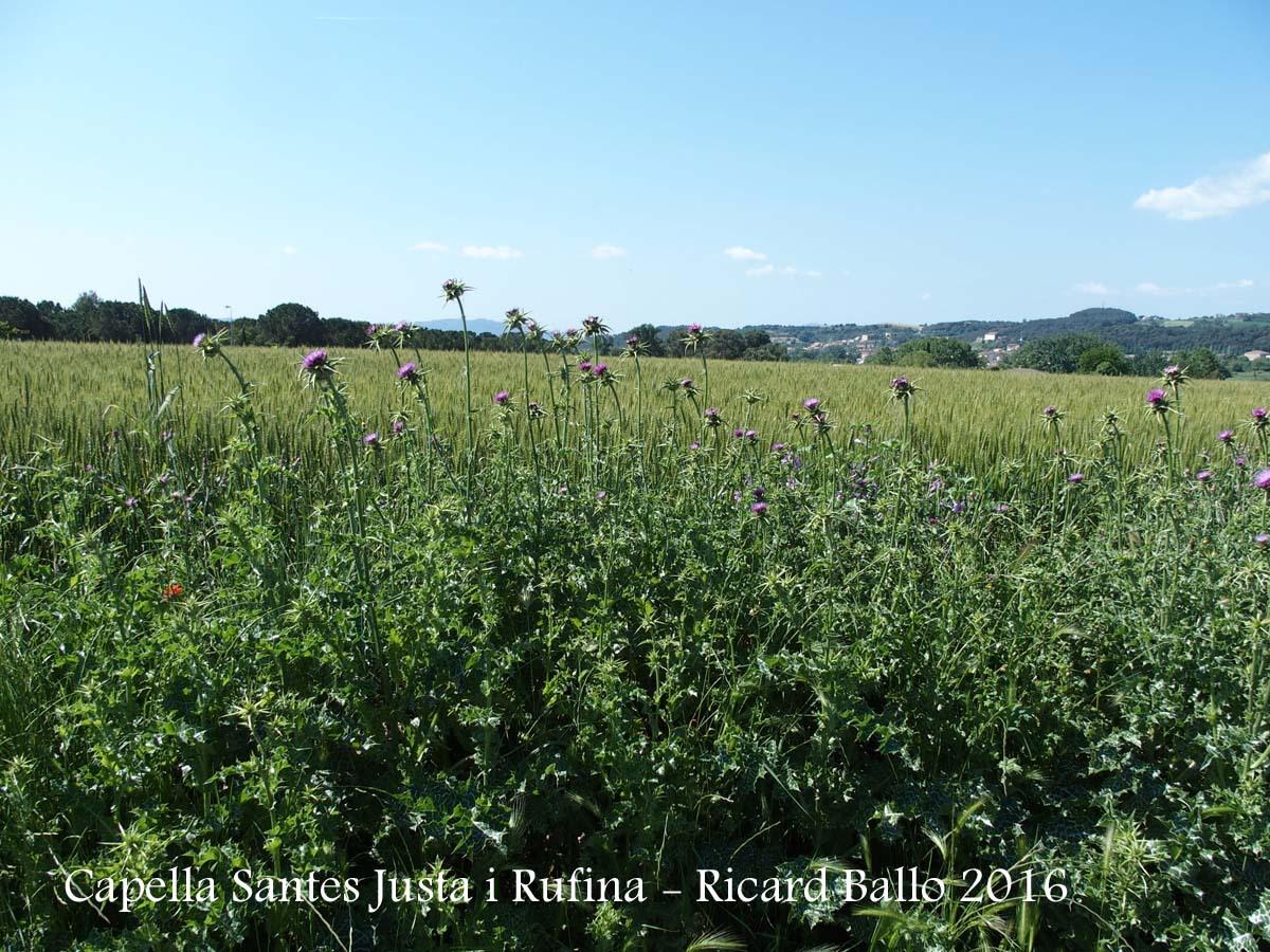 Vistes des de la Capella de Santa Justa i Santa Rufina – Lliçà d'Amunt