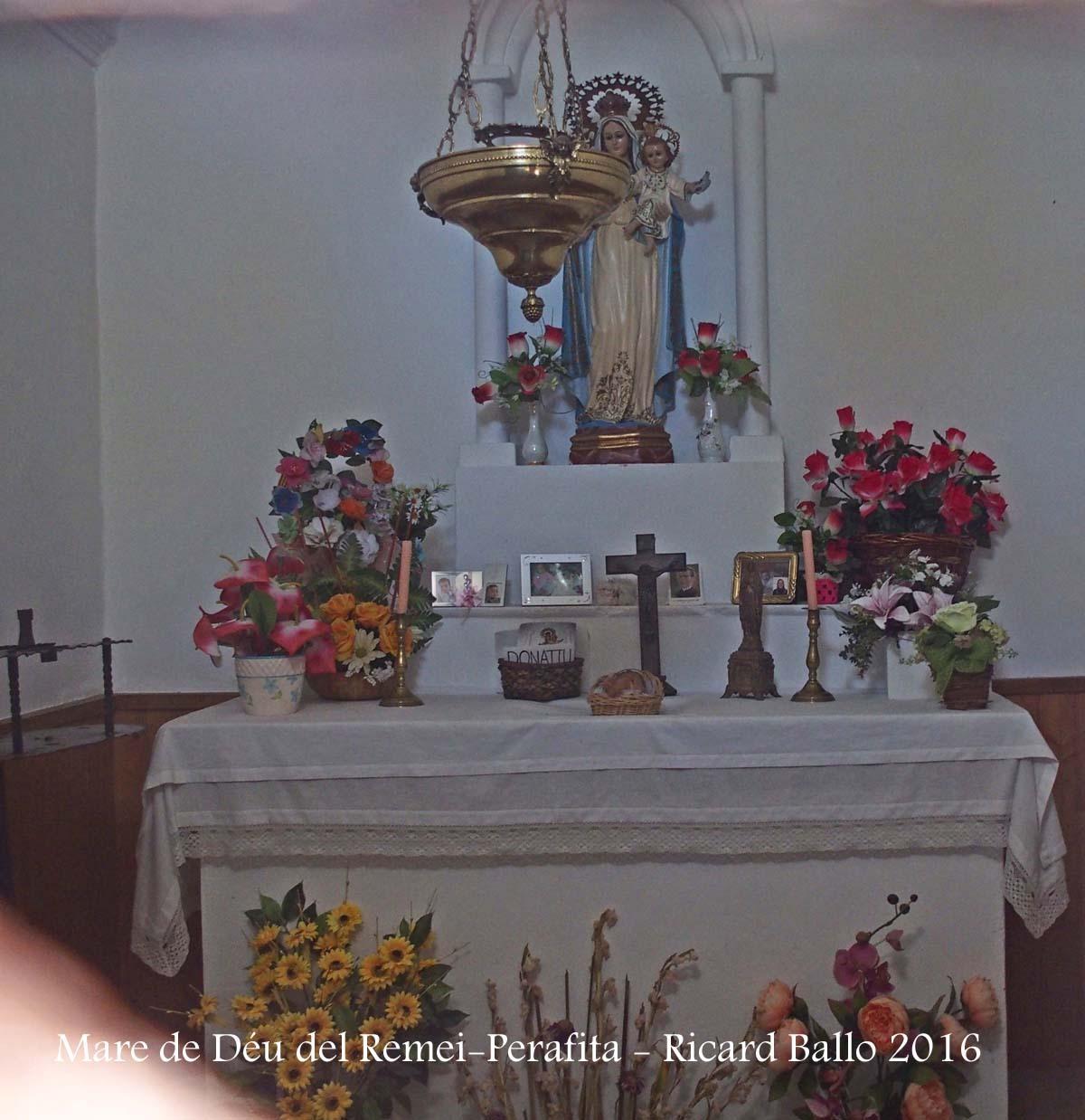 Capella de la Mare de Déu del Remei – Perafita