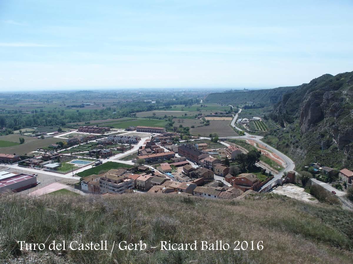 Tossal del castell - Entorn de la Capella de la Verge – Vistes d'Os de Balaguer