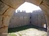 Castell de Montgrí – Torroella de Montgrí - Vista del pati d'armes des d'una finestra de la torre