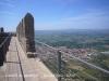 Castell de Montgrí – Torroella de Montgrí - Vista de Torroella de Montgri, des del camí de ronda