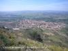 Castell de Montgrí - Torroella de Montgrí - Vista de Torrroella de Montgrí, des del camí d'accés al castell, quan ja manca poc per arribar-hi