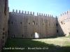 Castell de Montgrí - Torroella de Montgrí - Vista d'una altra façana interior