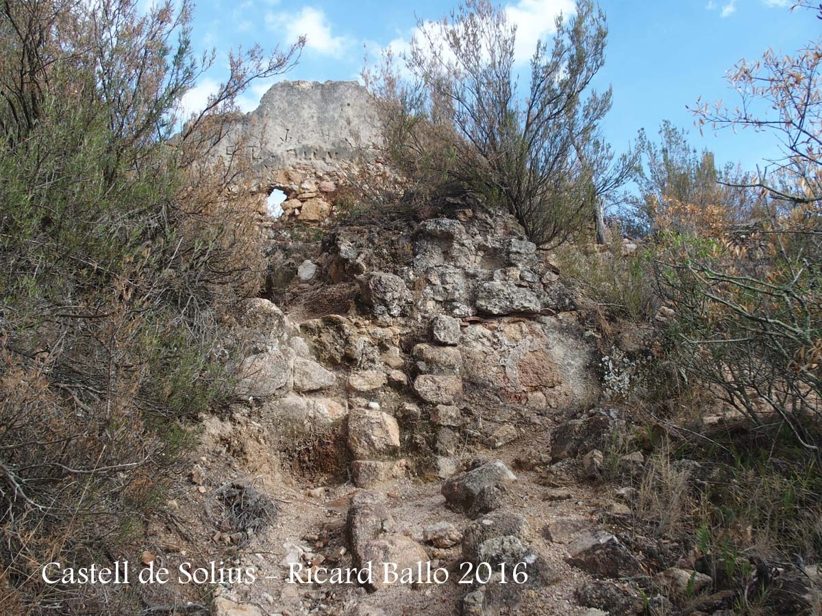Castell de Solius