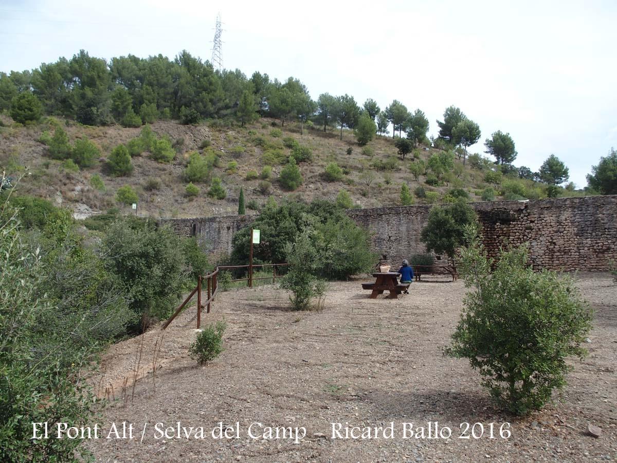 El Pont Alt – Selva del Camp - Zona de pícnic
