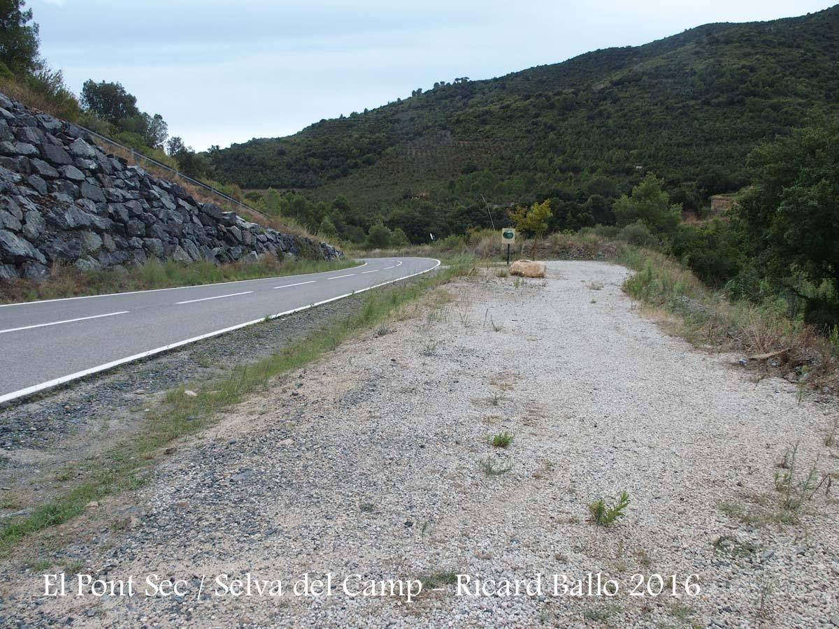 El Pont Sec – Selva del Camp - Zona de pàrking