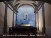 Ermita de Sant Salvador – Os de Balaguer - Fotografia de l'interior obtinguda introduint l'objectiu de la màquina de fotografiar a través d'una petita obertura que hi ha a la porta d'entrada