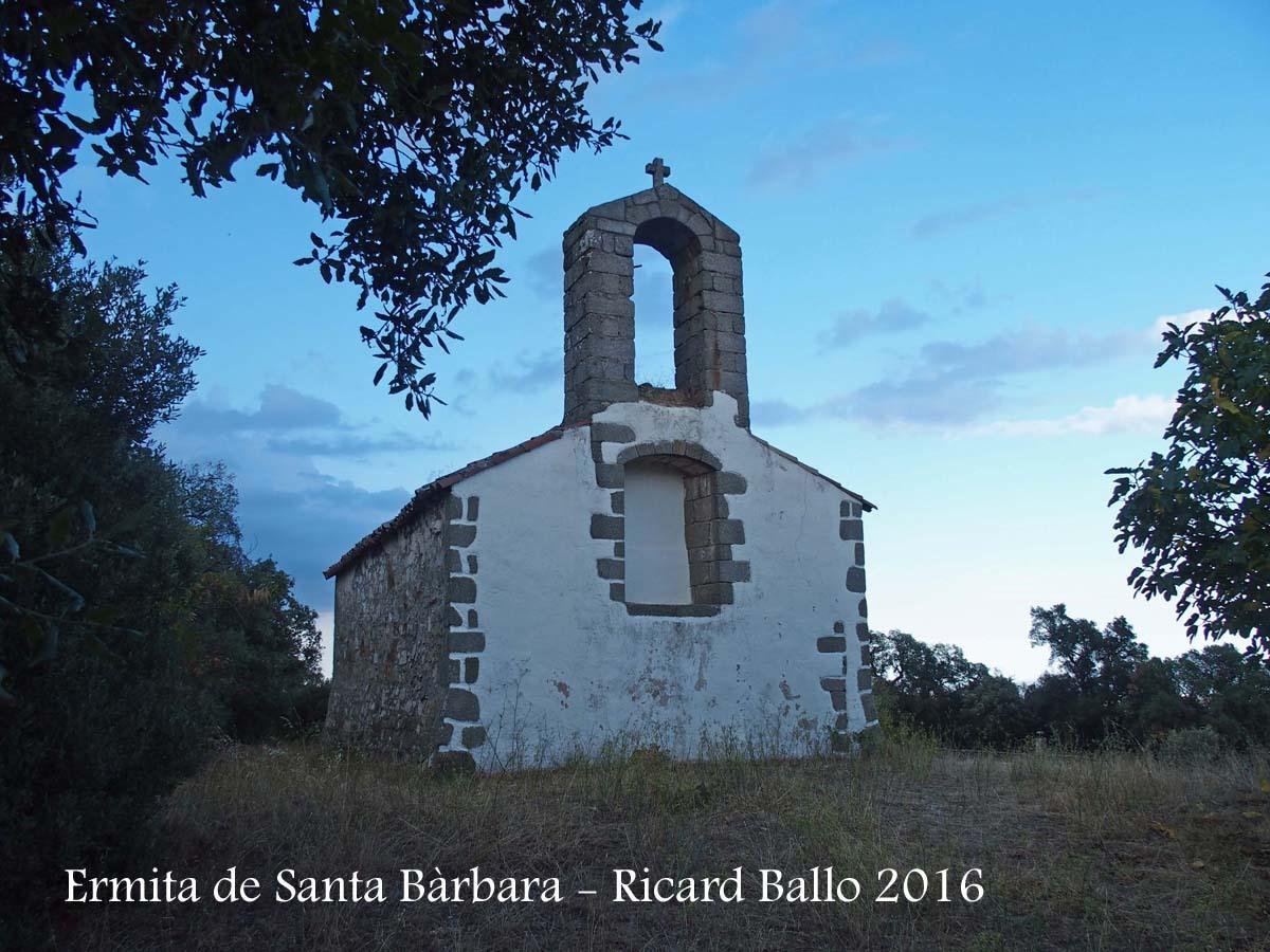 Ermita de Santa Bàrbara – Sant Feliu de Buixalleu