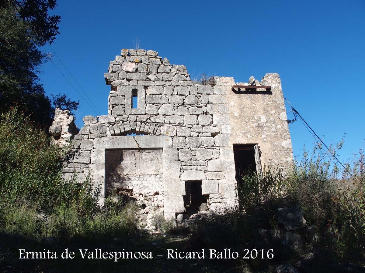 Ermita de Vallespinosa – Pontils