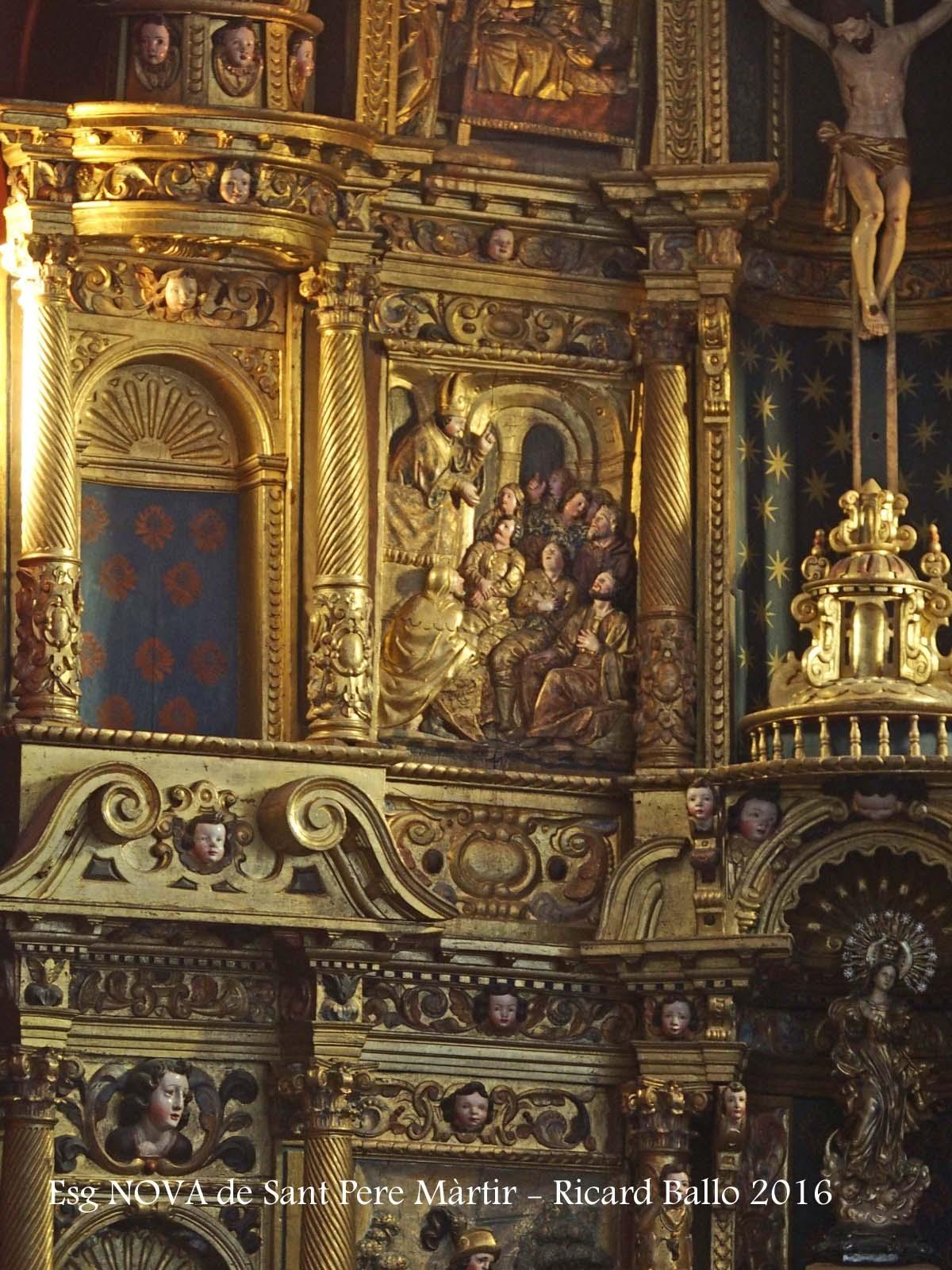 Església NOVA de Sant Pere Màrtir de Peracamps – Llobera