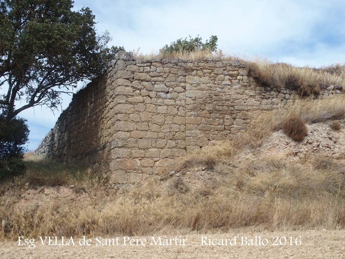 Església VELLA de Sant Pere Màrtir de Peracamps – Llobera