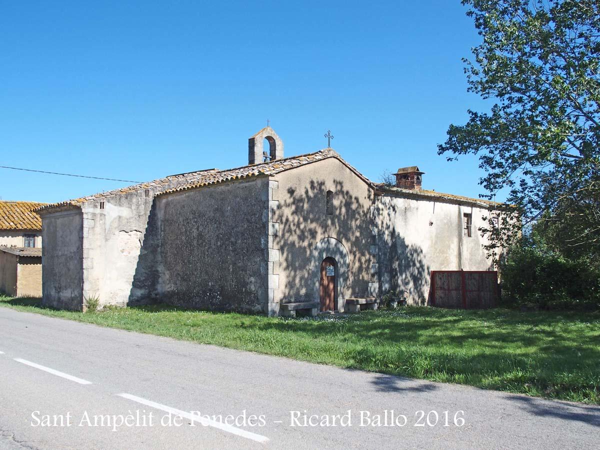 Església de Sant Ampèlit de Penedes – Llagostera