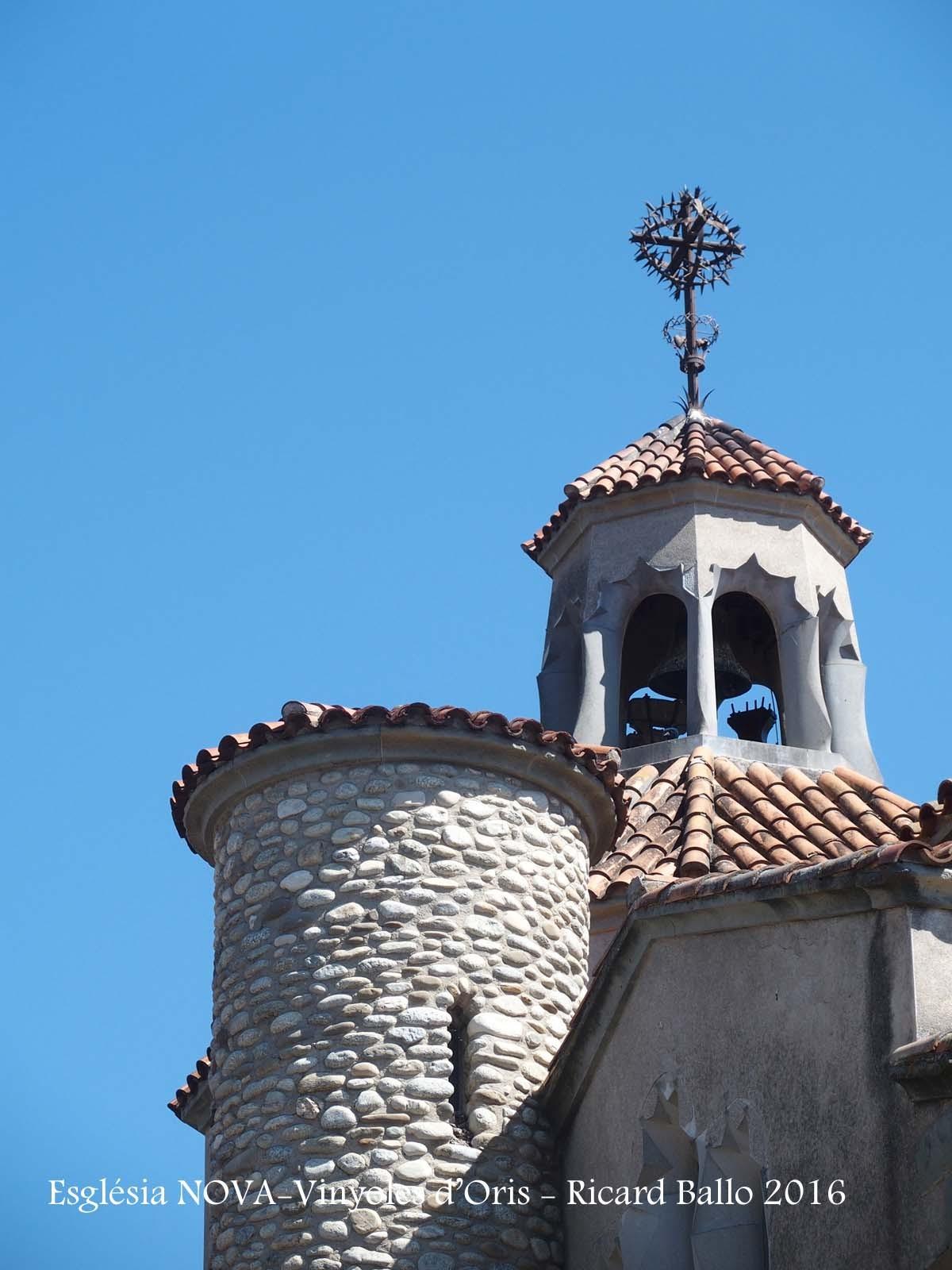 Església NOVA de Vinyoles d'Orís – Masies de Voltregà