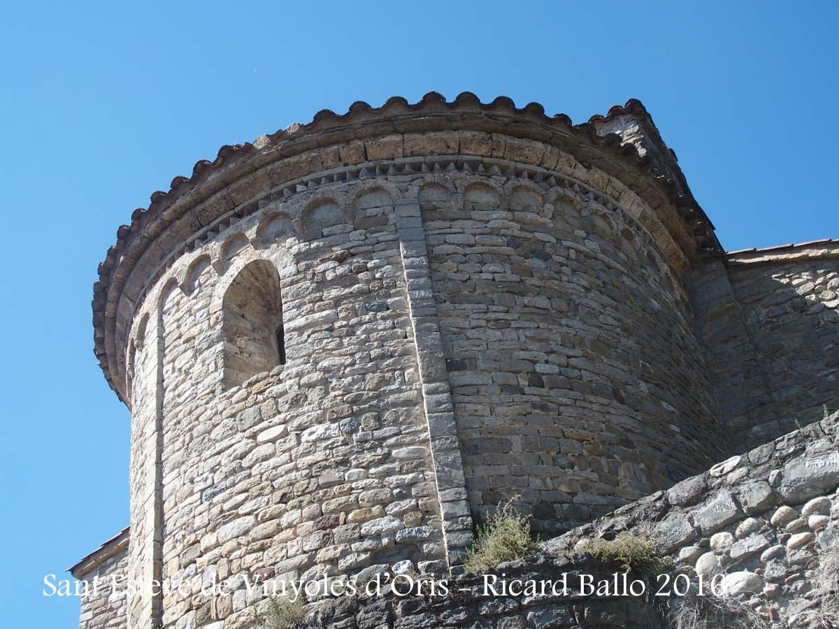 Església de Sant Esteve de Vinyoles d'Orís – Masies de Voltregà