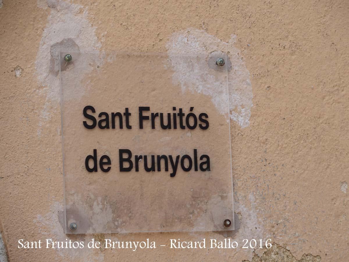 Església de Sant Fruitós – Brunyola