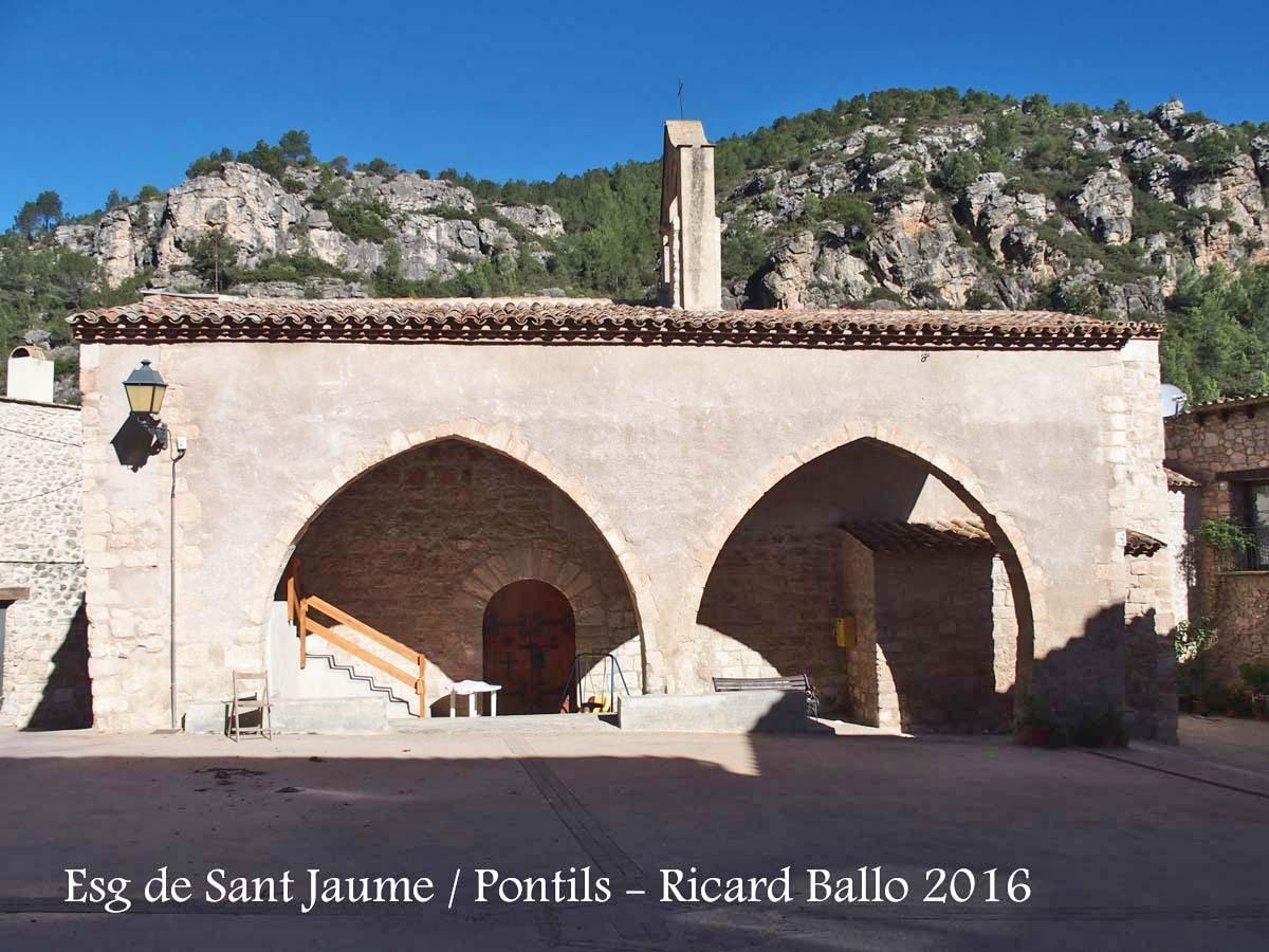 Església de Sant Jaume – Pontils